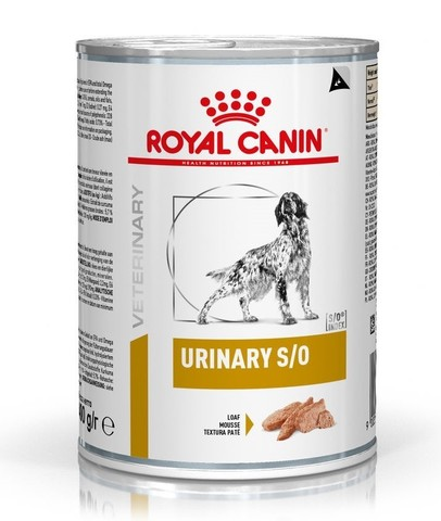 Royal Canin Urinary S/O Консервы для собак при мочекаменной болезни 0,41кг