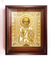 Икона Николая Чудотворца /в киоте/ №2