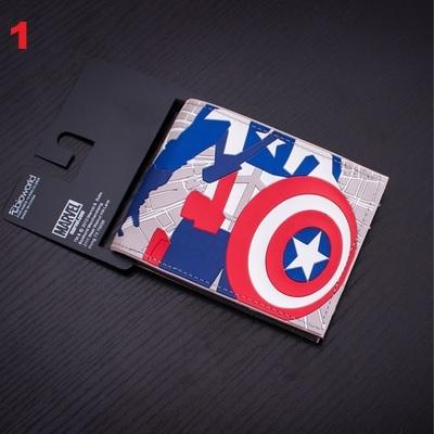 DC Comics Marvel Wallet Set 1