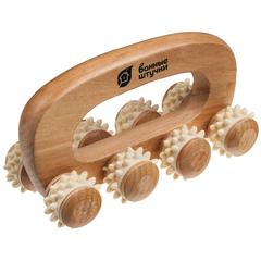 Массажёр деревянный универсальный, «Вездеход»