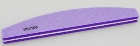 Блок шлифовочный банан 100/100 (фиолетовый)