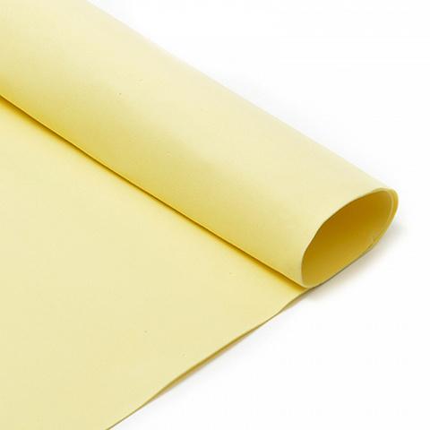 Фоамиран 1мм. 50*50 см, светло-желтый
