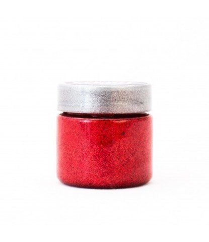 Блестки-краска Glitter Glaze красные