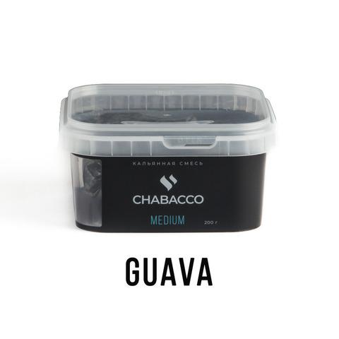 Кальянная смесь Chabacco Medium - Guava (Гуава) 200 г