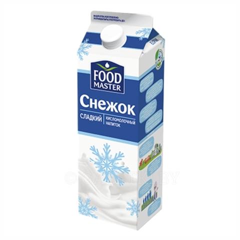 Напиток кисломолочный FOOD MASTER Снежок 2% 900 г т/п КАЗАХСТАН