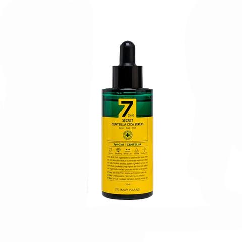 [MAY ISLAND] Сыворотка с центеллой азиатской  AHA-BHA-PHA — 7days secret centella cica serum 50 МЛ
