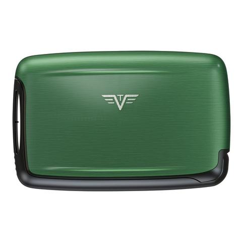 Визитница c защитой Tru Virtu Pearl, зеленый , 104x67x17 мм