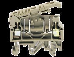 STK 2 BG винтовая разделительная клемма предохранителей  5х20/5х25 стандартного бежевого цвета