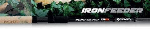 Удилище фидерное ZEMEX Iron Feeder Light 11ft 50g