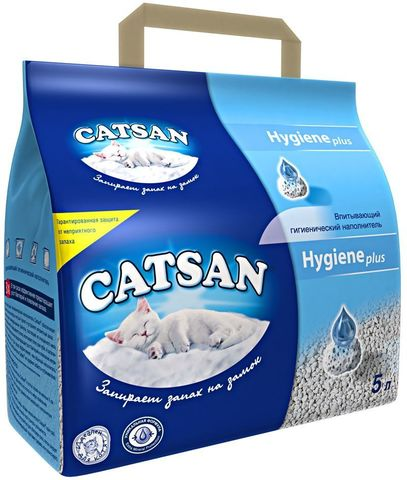 Катсан (Catsan) наполнитель для кошачьего туалета 5 л