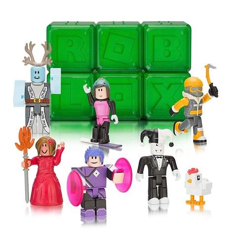 Роблокс Тайный набор Знаменитостей из 6 штук, серия 4 Зелёные