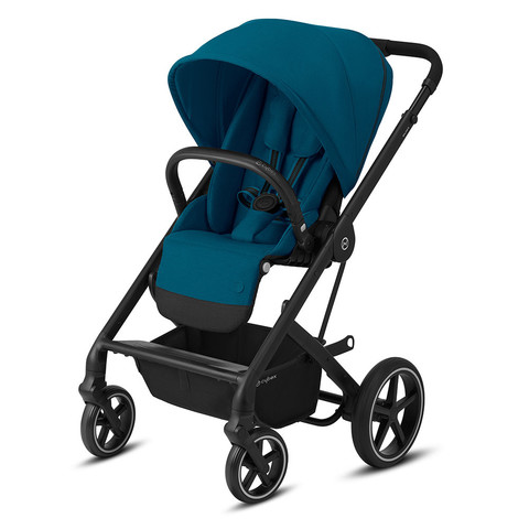 Прогулочная коляска Cybex Balios S Lux BLK River Blue