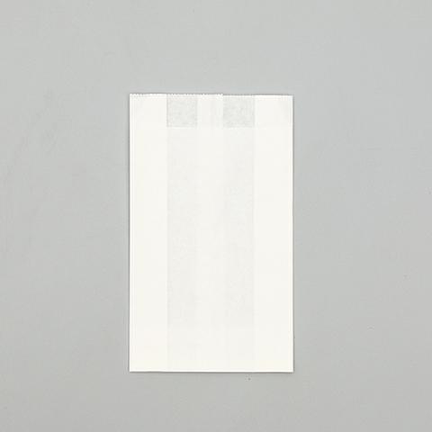 Пакет бумажный Белый, V-образное дно, 17х10х5см.
