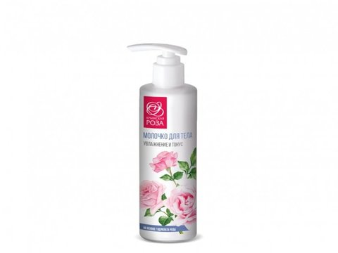 Молочко для тела «Роза» увлажнение и тонус™Крымская Роза