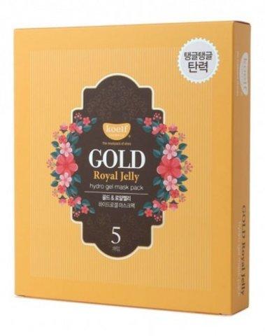 Гидрогелевая маска для лица Koelf с золотом и маточным молочком 30 мл