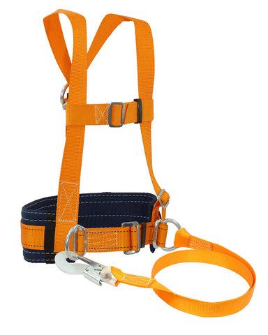 Удерживающая система УС 2 АД с наплечными лямками и стропом из ленты (х15)