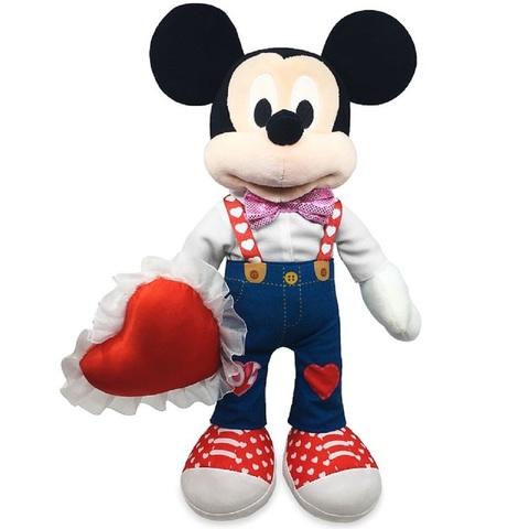 Дисней Плюшевый Микки Маус на День Святого Валентина 41 см