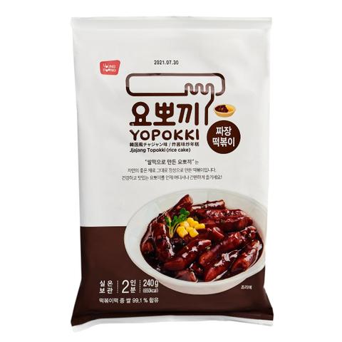 Рисовые клецки топокки Young Poong Yopokki с соусом чаджан 240 гр