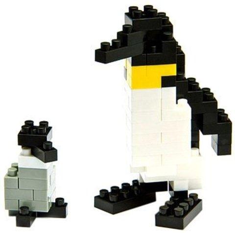 Nanoblock - Імператорський пінгвін