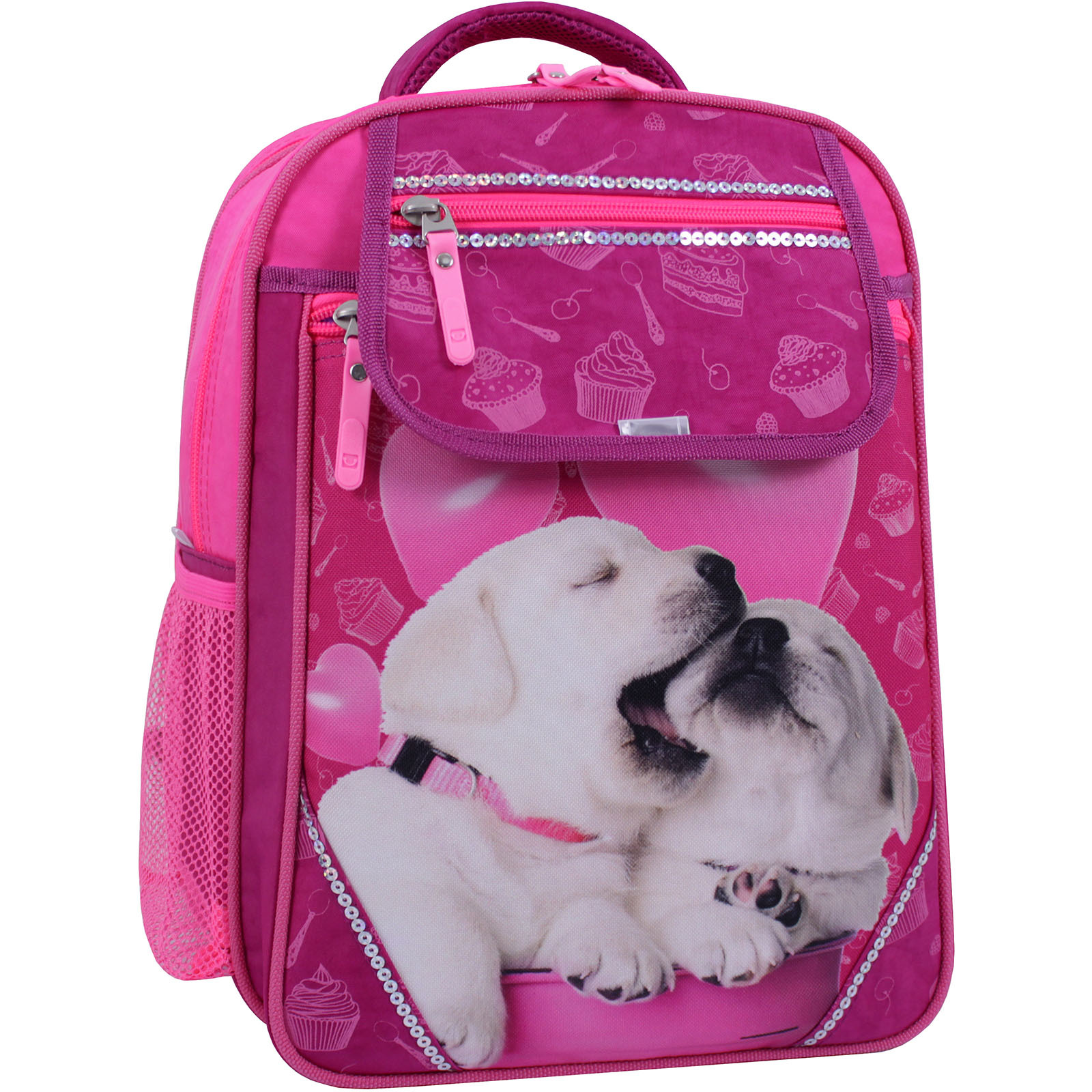 Рюкзак школьный Bagland Отличник 20 л. Малиновый 593 (0058070) фото 1