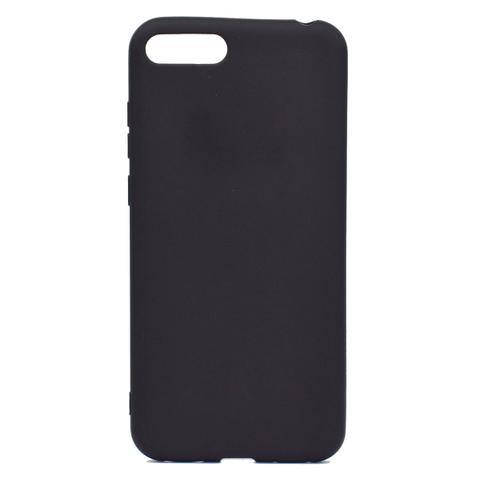 Черный прорезиненный чехол для Xiaomi redmi 7A