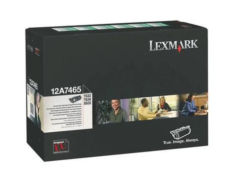 Оригинальный картридж Lexmark 12A7465 черный
