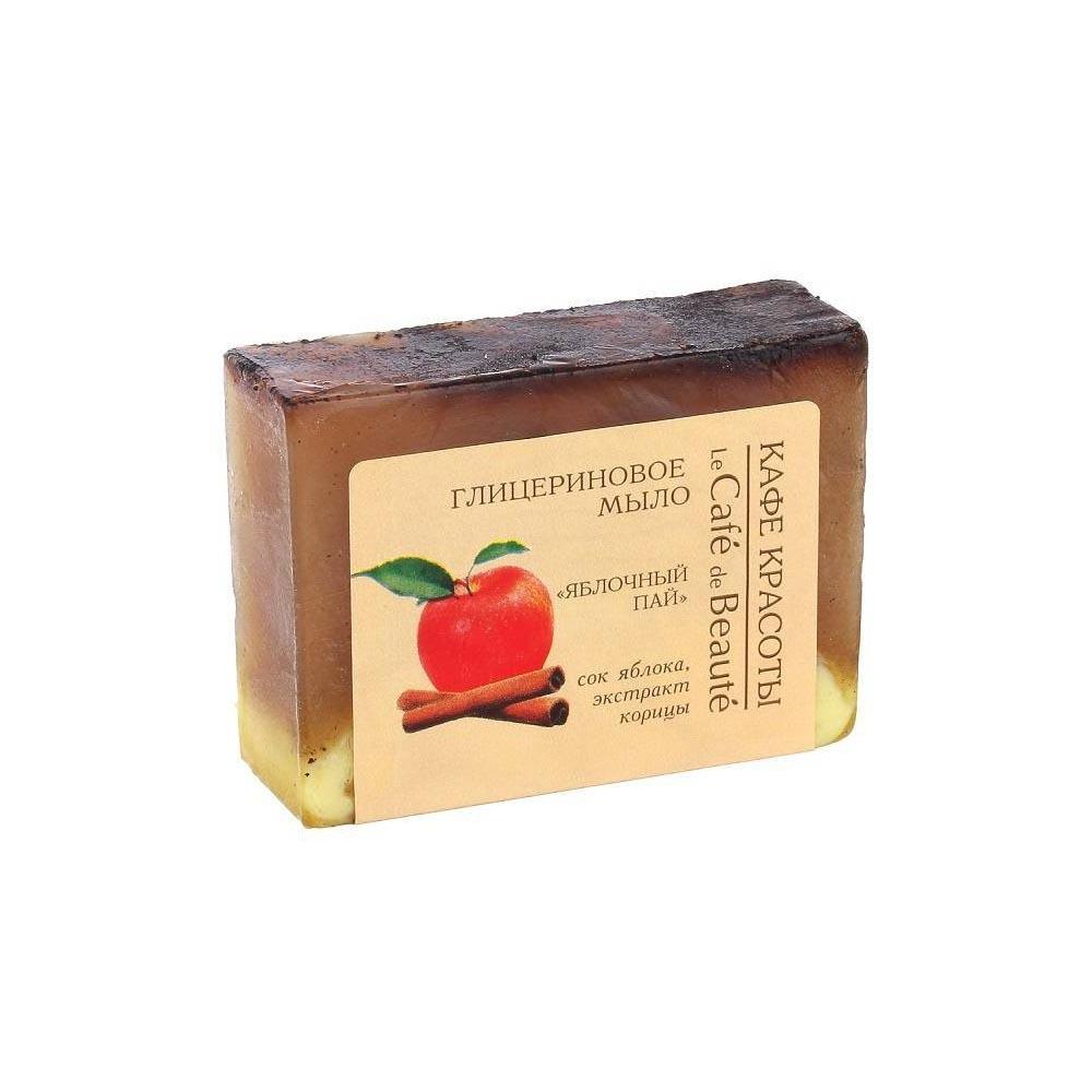 Мыло глицериновое Яблочный пай
