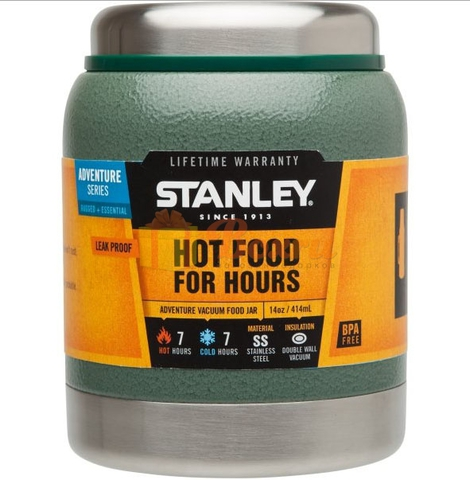 Картинка термос для еды Stanley Adventure Food 0.41L Зеленый - 1