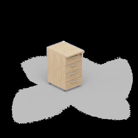 Приставная тумба (4 ящика)
