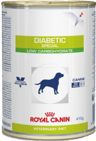 Royal Canin DIABETIC SPECIAL LOW CARBOHYDRATE для собак при сахарном диабете