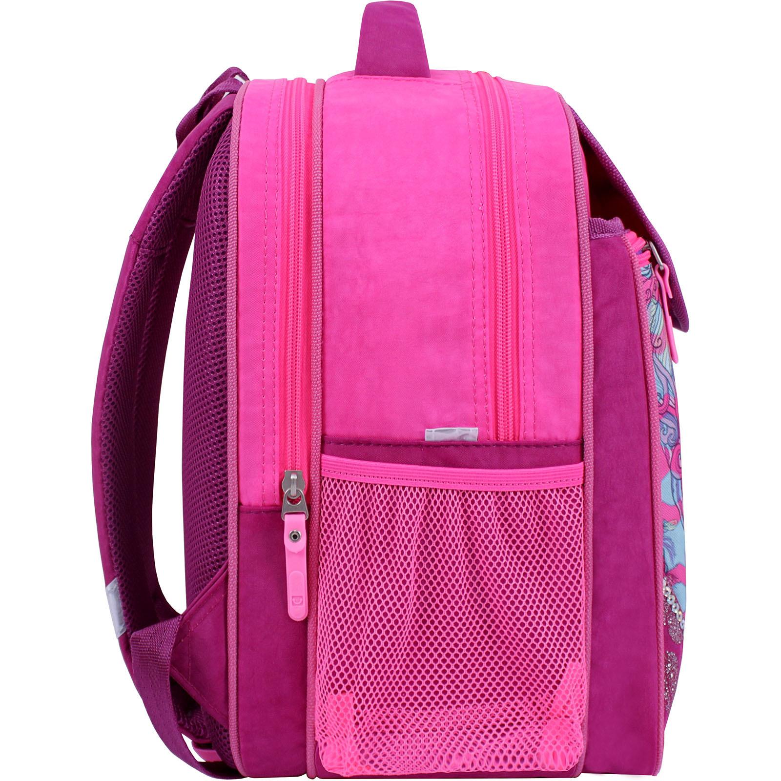Рюкзак школьный Bagland Отличник 20 л. Малиновый 593 (0058070) фото 2