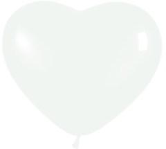 S Сердце 12 Пастель Белый