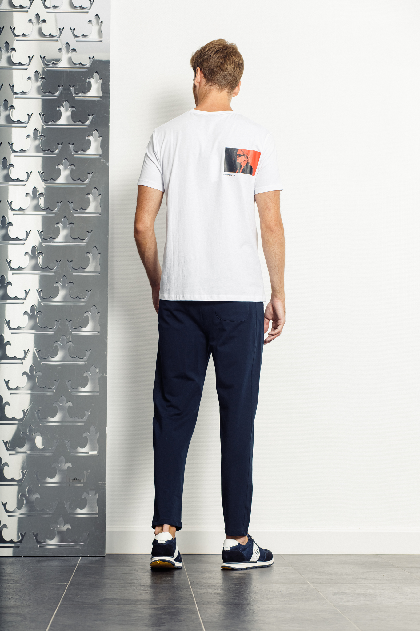KARL Lagerfeld Футболка с надписью