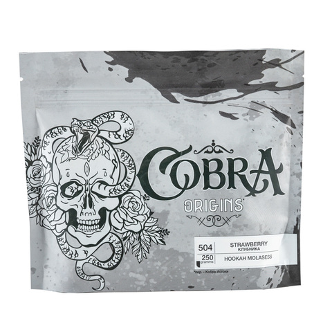 Табак Cobra Origins Strawberry 250 гр