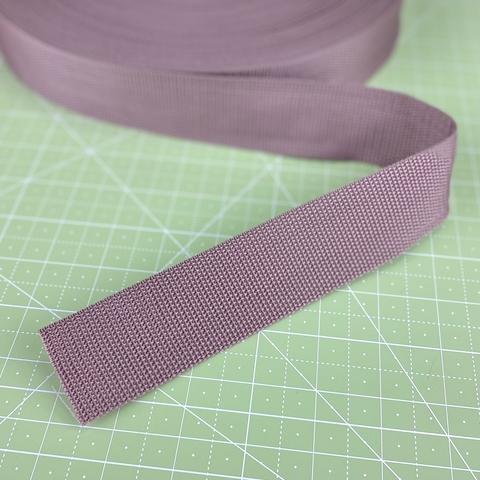 Ременная лента (стропа), 4см, цвет какао