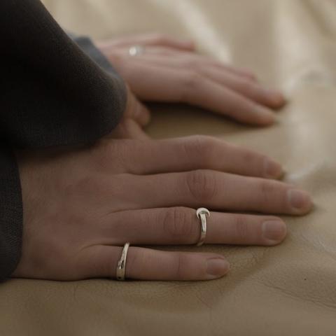 Миди-кольцо LUNA