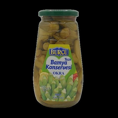 Бамия консервированная BURCU, 550 гр