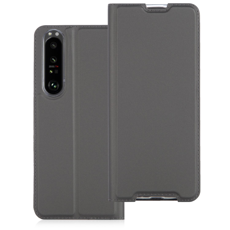 Чехол-книжка чёрного цвета для смартфона Xperia 1 III