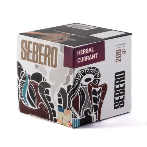 Табак Sebero Herbal Currant (Ревень-Смородина) 200 г