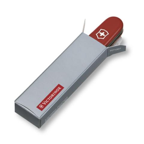 Нож Victorinox Climber, 91 мм, 14 функций, полупрозрачный красный123