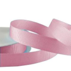 Лента Репсовая Розовый, 1,2 см *22,85 м