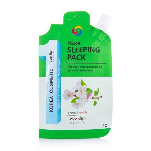 Eyenlip Маска для лица ночная с экстрактами трав Herb Sleeping Pack, EYENLIP 20 гр