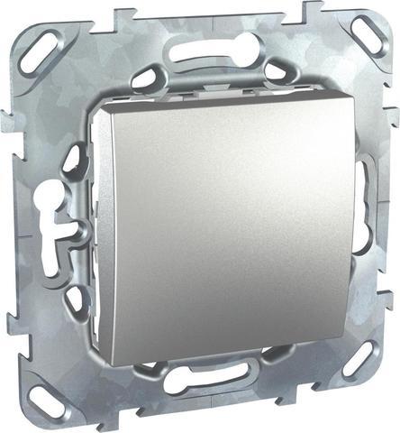 Заглушка. Цвет Алюминий. Schneider electric Unica Top. MGU5.866.30ZD