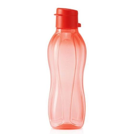 Эко-бутылка 500 мл в коралловом цвете
