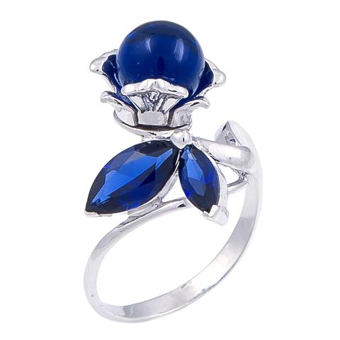 Кольцо с сапфиром Арт.1186кс