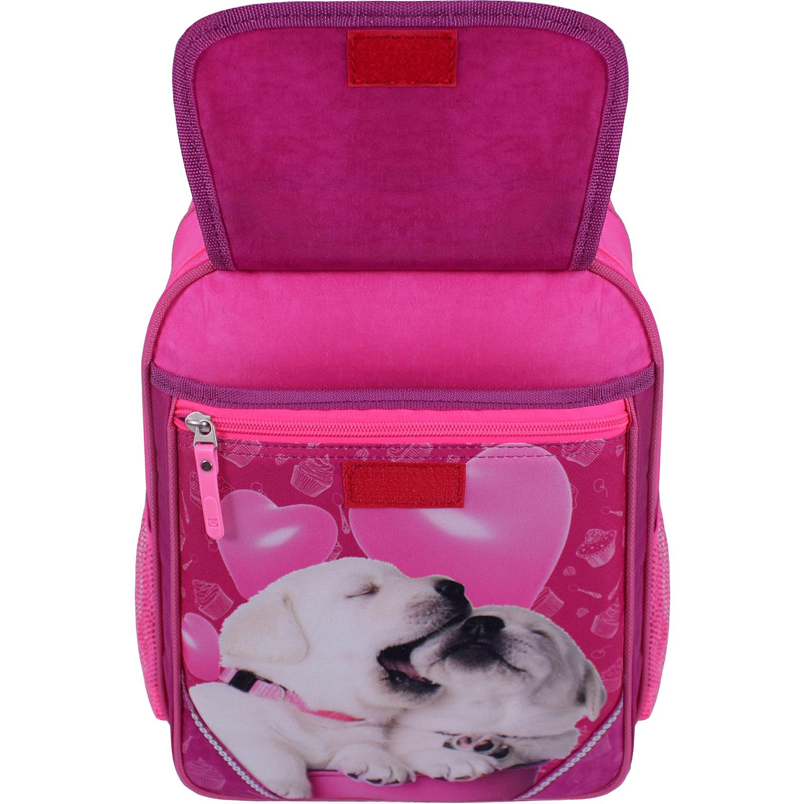 Рюкзак школьный Bagland Отличник 20 л. Малиновый 593 (0058070) фото 4