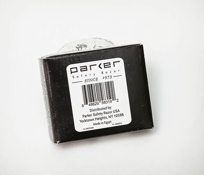 RAZ495 Лезвия для шаветки половинки «PARKER» Premium Platinum (100 шт) фото 04