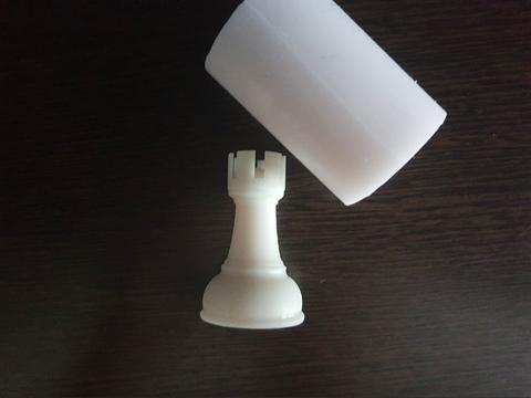 Силиконовый молд Шахматная фигура   классика № 5