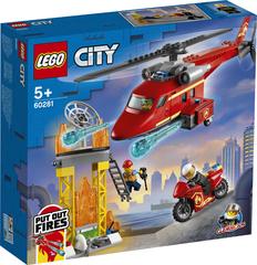 Lego konstruktor City Fire Rescue Helicopter