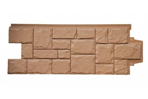 Фасадные панели  GRAND LINE (ГРАНД ЛАЙН) Крупный Камень Глина